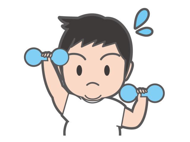 体脂肪を減らすために運動をするようになった